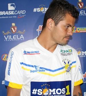 Denis Palmas (Foto: Edson Reis/ GloboEsporte.com)
