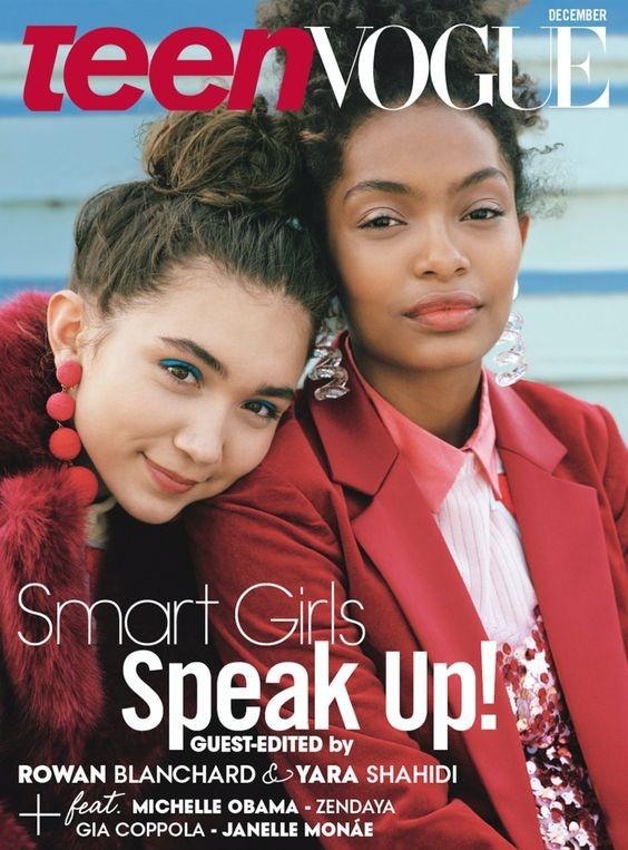 Capa Teen Vogue (Foto: Reprodução)