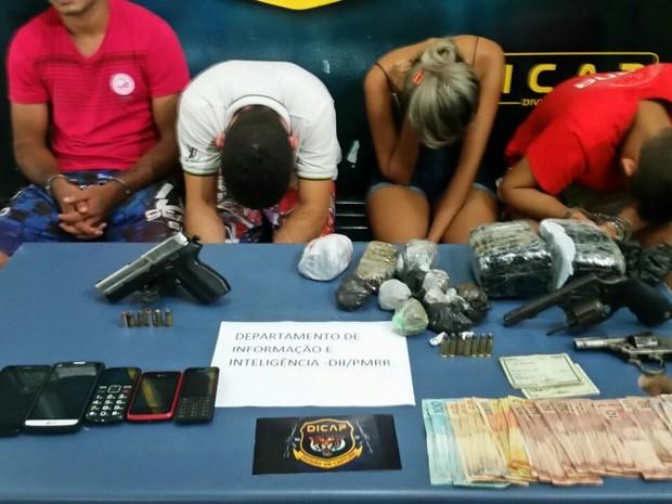 Unidade também atua no combate as ações de organizações criminosas  (Foto: Dicap/Divulgação)