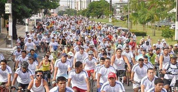 Passeio Ciclístico SESI SENAI  (Foto: Reprodução/ Portal ORM)