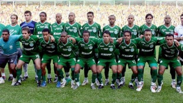 Chapecoense campeão Catarinense 2007 (Foto: Arquivo / Chapecoense)
