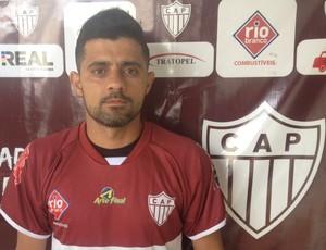 Mário César, volante, Patrocinense, CAP, Patrocínio, Clube Atlético Patrocinense (Foto: CAP/Divulgação)