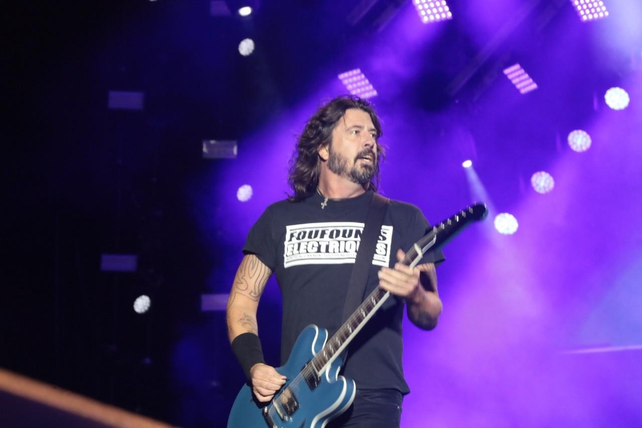 Foo Fighters no Rock In Rio 2019 (Foto: Beto Roma / Multishow)