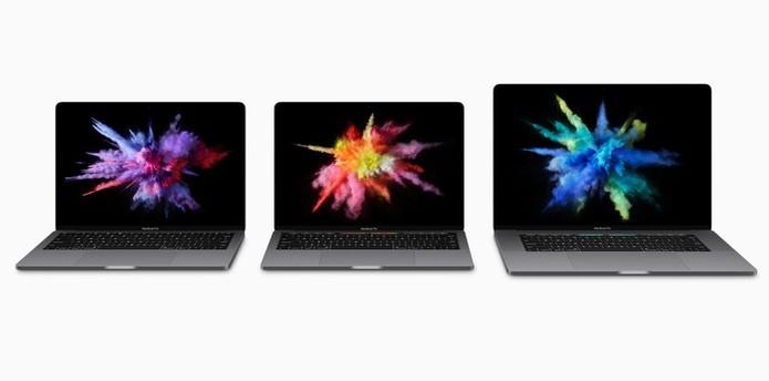 """Apple apresenta novos modelos do MacBook Pro com telas de 13"""" e 15 polegadas (Foto: Reprodução/Barbara Mannara) (Foto: Apple apresenta novos modelos do MacBook Pro com telas de 13"""" e 15 polegadas (Foto: Reprodução/Barbara Mannara))"""