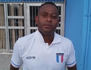 Joelson, meia do Espírito Santo (Foto: Sidney Magno Novo/GloboEsporte.com)