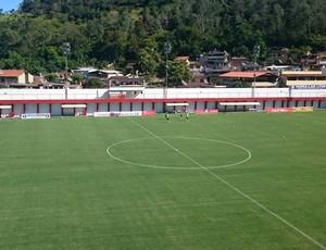 Estádio Almeidão, Tombos, Tombense x América-MG 8ª rodada do Mineiro (Foto: (Henrique Fernandes/ SporTV))