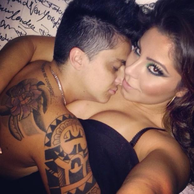 Thammy Miranda e a namorada, Andressa Ferreira (Foto: Instagram/ Reprodução)