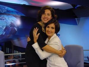 Fátima e Ana antiga 2 (Foto: Encontro com Fátima Bernardes/TV Globo)