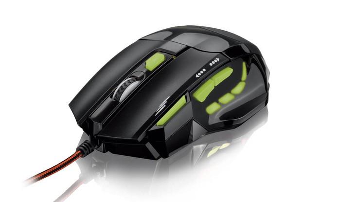 Mouse Gamer Multilaser MO208 tem 2.400 DPI e é plugado via USB (Foto: Divulgação/Multilaser)