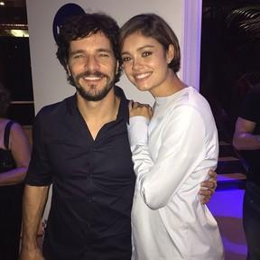 Sophie Charlotte e Daniel de Oliveira (Foto: Repodrução / Instagram)