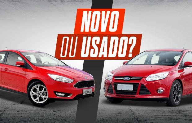 Ford Focus SE 1.6 versus Ford Focus Titanium 2.0 (Foto: Editora Globo)