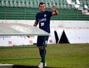 Fernando, zagueiro do Guarani (Foto: Murilo Borges / Globoesporte.com)