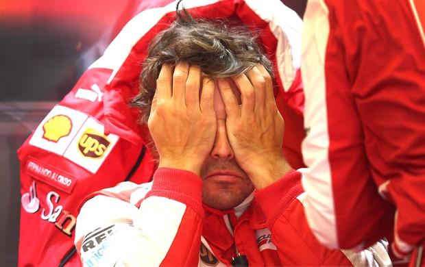 Formula 1 Alonso gp Bélgica (Foto: Getty Images)