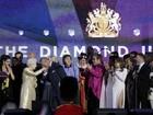 Família real comemora o Jubileu de Diamante da Rainha Elizabeth II