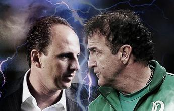 """Cereto diz que Cuca """"sofreria"""" menos que Ceni em caso de derrota e cita Tite"""