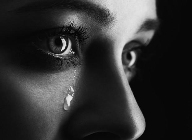 Lágrimas no meio da sala (Foto: Thinkstock)