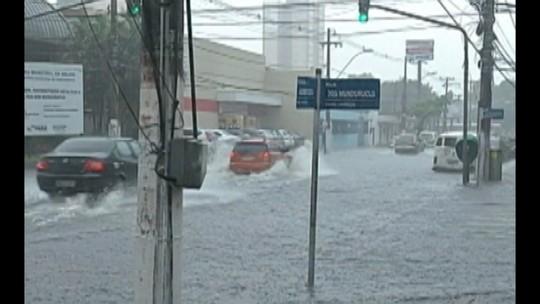 Fortes chuvas nas regiões do Pará alagam diversas cidades