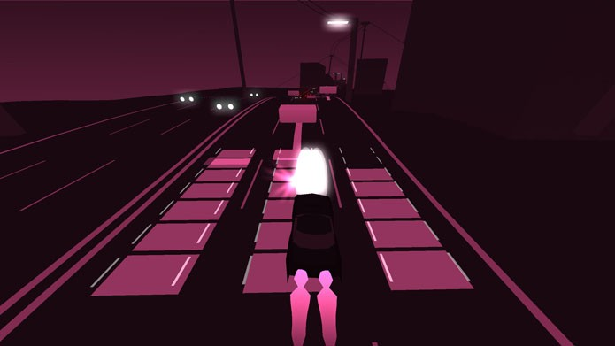 Com a skin Dusk, a nave e o espaço são trocados por um carro e uma rua (Foto: Divulgação)
