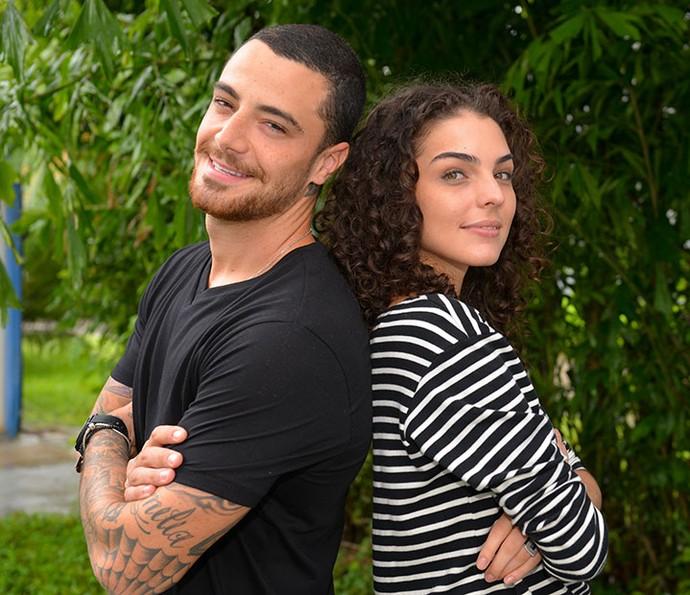 Felipe Titto e Julia Konrad comentam envolvimento de Samurai e Ciça (Foto: Pedro Carrilho/Gshow)