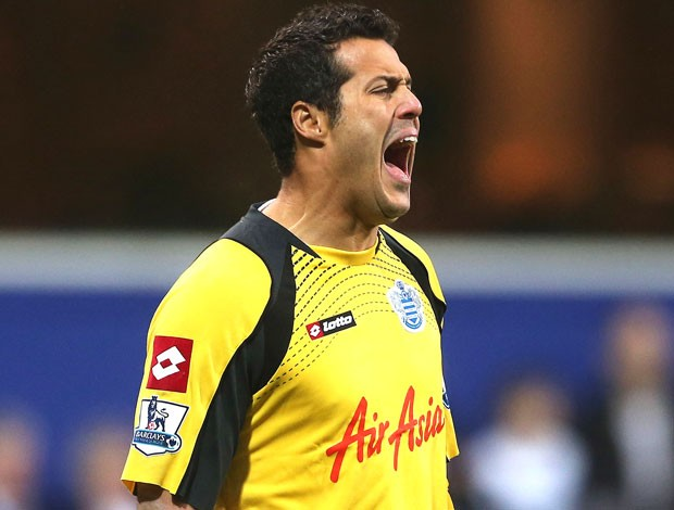 Julio Cesar, Queens Park Rangers e Everton (Foto: Getty Images)