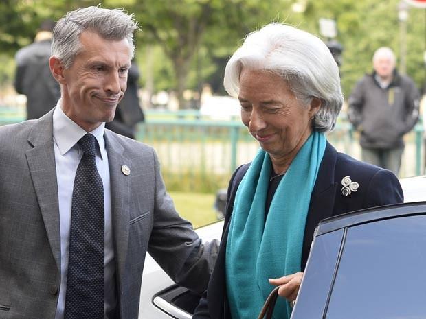 Christine Lagarde chega a fórum na França para depor sobre desvio de recurso  (Foto: AFP)