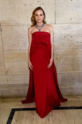 Diane Kruger em evento em Nova York, nos Estados Unidos (Foto: Jamie McCarthy/ Getty Images/ AFP)