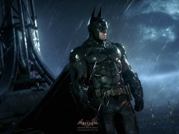 'Batman: Arkham Knight' é o novo jogo do homem-morcego para PlayStation 4, Xbox One e PC. O estúdio britânico Rocksteady promete que o jogo será 20 vezes maior que 'Arkham City' (Foto: Divulgação/Rocksteady)
