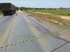 Funcionário morre atropelado ao fazer serviço em rodovia de MT