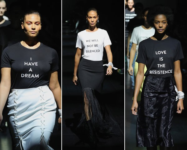 """""""Eu tenho um sonho""""; """"Não seremos silenciadas""""; """"O amor é a resistência"""" (Foto: Getty Images)"""