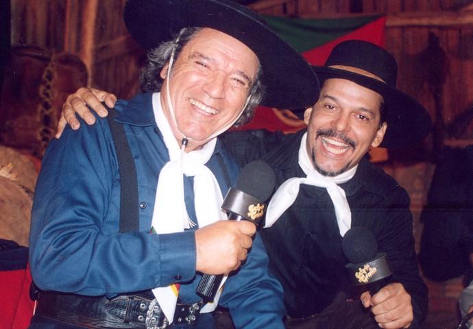 Nico e Neto Fagundes (Foto: Divulgação/RBS TV)