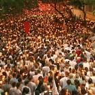 Romaria dos Homens reúne milhares (Reprodução/TV Gazeta)