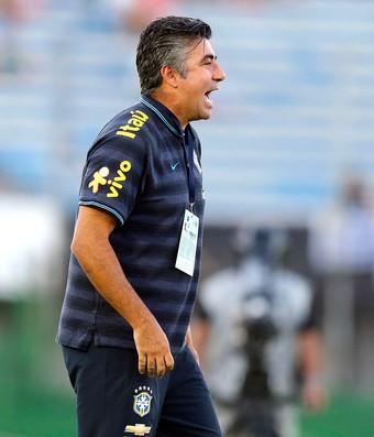 Gallo, Brasil x Colombia sub-20 (Foto: Reuters)