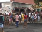 Moradores fazem protesto contra morte de jovem no bairro de Valéria