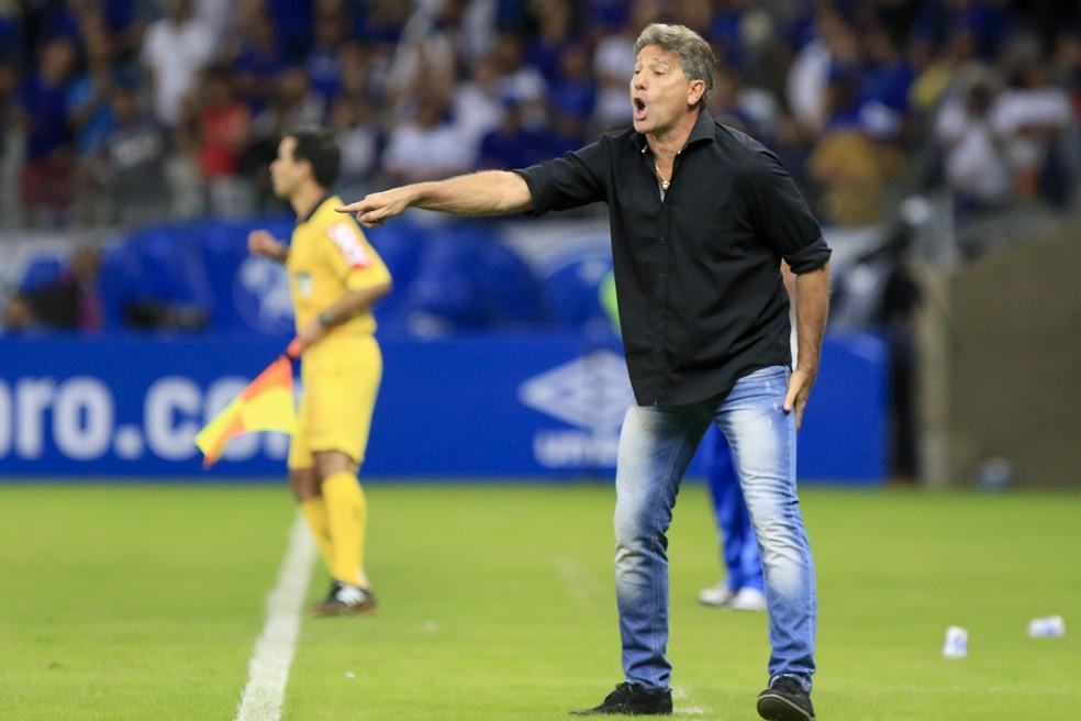 Renato viu melhor jogo do Brasileirão (Foto: Daniel Coelho/Agência PressDigital)
