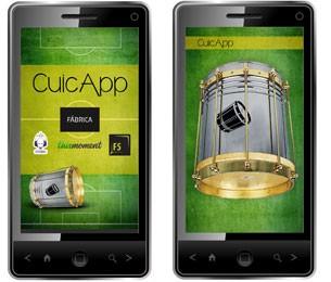 Aplicativo Cuícapp permite tocar cuíca pelo celular (Foto: Divulgação)
