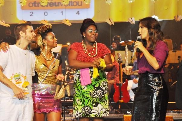 Ivete Sangalo em premiação em Salvador, na Bahia (Foto: Genilson Coutinho/ Divulgação)