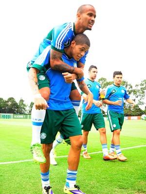 Palmeiras treino (Foto: Marcos Ribolli / Globoesporte.com)