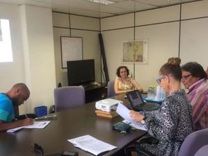 Dados foram divulgados durante coletiva de imprensa (Foto: Henrique Mendes / G1)