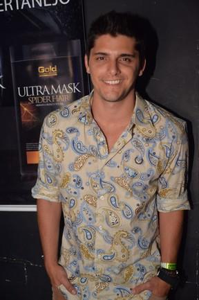 Bruno Gissoni em noite sertaneja no Rio (Foto: Vagner Souza / MF Models Assessoria)