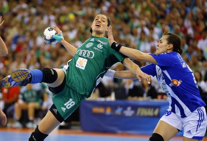 duda amorim gyori final da liga dos campeões de handebol (Foto: Reuters)