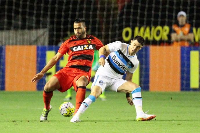Sport x Grêmio (Foto: Marlon Costa / Pernambuco Press)