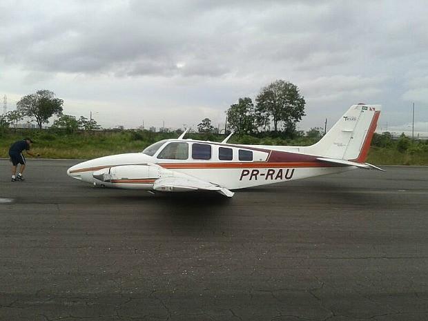 Incidente não causou danos a pista do Aeroclube, afirmou major do Graer-AM (Foto: Divulgação/Graer)