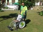 Após percorrer 8 mil Km a pé, 'Zé do Pedal' chega a Petrópolis, no RJ
