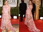 Grávidas, Olivia Wilde e Drew Barrymore vão ao Globo de Ouro