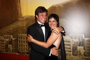 Ana Paula Arósio e Henrique Plombon Pinheiro (Foto: AgNews)
