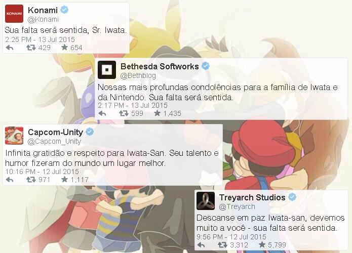 Imagem postada pela filial europeia da Konami em seu perfil oficial do Twitter (Foto: Reprodução/Rafael Monteiro)