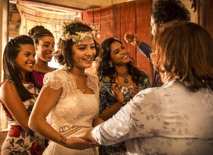 Últimos capítulos: Olívia se veste de noiva