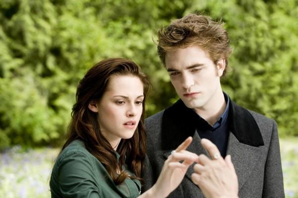 Kristen Stewart e Robert Pattinson em A Saga Crepúsculo: Lua Nova (Foto: Divulgação)