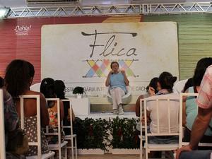 2ª mesa do 4º dia de Flica (Foto: Ida Sandes/ G1)