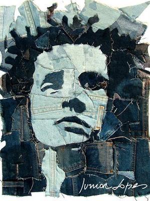 O artista plástico Junior Lopes ensinará uma maneira inusitada de produzir retratos em oficina em Piracicaba (Foto: Reprodução)